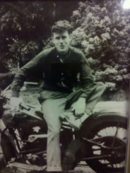 grandpa on his motorcycle