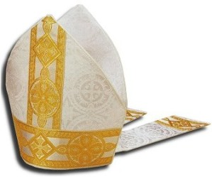 """...the Bishop looks mighty in his Mitre..."""