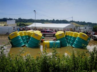 festival toilets, Glastonbury, hostelbookers.com